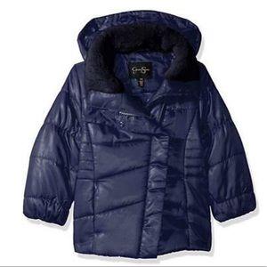 Jessica Simpson girls navy jacket